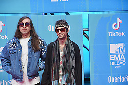 November 4, 2018 - Madrid, Madrid, Spain - Crystal Fighters attends the 25th MTV EMAs 2018 held at Bilbao Exhibition Centre 'BEC' on November 4, 2018 in Madrid, Spain (Credit Image: © Jack Abuin/ZUMA Wire)