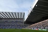 Photo: Andrew Unwin.<br /> Newcastle United v Manchester City. The Barclays Premiership. 24/09/2005.<br /> A packed St James' Park enjoys Newcastle's first home win of the season.