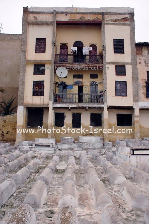 Morocco, Fes, Jewish Cemetery