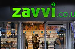 Zavvi music shop closing down due to recession crisis Reading Berks Jan 2009