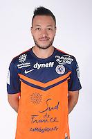 Jamel SAIHI - 23.07.2014 - Portraits officiels Montpellier - Ligue 1 2014/2015<br /> Photo : Icon Sport