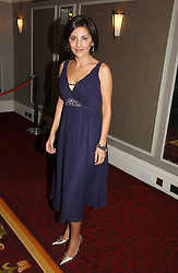 TV newsreader NAZANINE MOSHIRI at the 10th Anniversary Asian Business Awards 2006 at the London Grosvenor Hotel Park Lane, London on 19th April 2006.<br /><br />NON EXCLUSIVE - WORLD RIGHTS