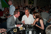 GUY RITCHIE; CHARLES FINCH, Prada Congo Benefit party. Double Club. Torrens Place. Angel. London. 2 July 2009.