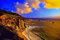 Big Sur Coast, Monterey County, California USA