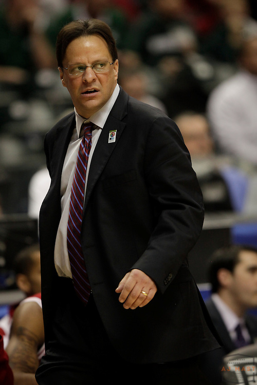 09 March 2012: Indiana Head Coach Tom Crean as the Indiana Hoosiers played the Wisconsin Badgers in a college basketball game during the Big 10 Men's Basketball Championship in Indianapolis