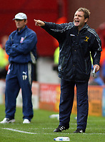 Photo: Paul Thomas.<br /> Stoke City v Norwich City. Coca Cola Championship. 28/10/2006.<br /> <br /> Peter Grant, Norwich manager.