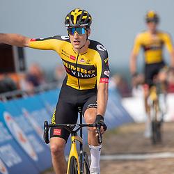 WIJSTER (NED) June 19: <br /> CYCLING <br /> Dutch Nationals Road U23 up and around the Col du VAM<br /> Tim Van Dijke (Netherlands / Team Jumbo Visma Academy) wins the race that brings him the U23 title