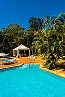 Swimming pool, San Martin Hotel & Resort, Foz do Igaucu, Brazil.
