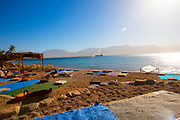 Summer seaside Holiday concept on the Red Sea.