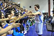 DESCRIZIONE : Eurocup 2013/14 Gr. J Dinamo Banco di Sardegna Sassari -  Brose Basket Bamberg<br /> GIOCATORE : Giacomo DeVecchi<br /> CATEGORIA : Ritratto Esultanza<br /> SQUADRA : Dinamo Banco di Sardegna Sassari <br /> EVENTO : Eurocup 2013/2014<br /> GARA : Dinamo Banco di Sardegna Sassari -  Brose Basket Bamberg<br /> DATA : 19/02/2014<br /> SPORT : Pallacanestro <br /> AUTORE : Agenzia Ciamillo-Castoria / Luigi Canu<br /> Galleria : Eurocup 2013/2014<br /> Fotonotizia : Eurocup 2013/14 Gr. J Dinamo Banco di Sardegna Sassari - Brose Basket Bamberg<br /> Predefinita :