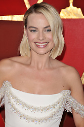 Margot Robbie walking on the red carpet during the 90th Academy Awards ceremony, presented by the Academy of Motion Picture Arts and Sciences, held at the Dolby Theatre in Hollywood, California on March 4, 2018. (Photo by Sthanlee Mirador/Sipa USA)