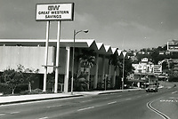 1973 Great Western Savings on Sunset Blvd. & Crescent Heights Blvd.