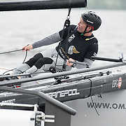 OMAN AIR<br /> (OMA)<br /> Progressing from sixth in 2014 to a respectable fourth place in 2015, Oman Air will look to make further improvements this year with former Series Champion Morgan Larson at the helm. Larson returns to the Series having raced in 2013 and 2014 for Alinghi, winning the 2014 Series as co-skipper alongside Ernesto Bertarelli. Nasser Al Mashari joins the team as bowman, having sailed for the 2015 winning team The Wave, Muscat. Now in its tenth season in 2016, the award-winning and adrenaline-fueled global Series has given the sport of sailing a healthy dusting-off. Bringing the action to the public with Stadium Sailing, putting guests at the heart of the battle and dramatically increasing the pace on the water, the creators of the Extreme Sailing Series™ have set new standards, both in terms of high level competition and sporting entertainment. With a new fleet of hydro-foiling GC32s replacing the Extreme 40 for the 2016 season the Extreme Sailing Series™ looks set to be another fast-paced and thrilling year.
