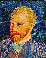 France, Paris (75), zone classée Patrimoine Mondial de l'UNESCO, Musée d'Orsay, Portrait de l'artiste, Vincent Van Gogh // France, Paris, Orsay museum, Portrait de l'artiste, Vincent Van Gogh