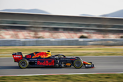February 20, 2019 - Barcelona, Spain - VERSTAPPEN Max (ned), Aston Martin Red Bull Racing Honda RB15, action during Formula 1 winter tests from February 18 to 21, 2019 at Barcelona, Spain - Photo  /  Motorsports: FIA Formula One World Championship 2019, Test in Barcelona, (Credit Image: © Hoch Zwei via ZUMA Wire)