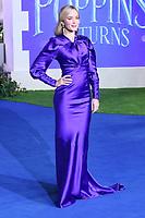 Emily Blunt, Mary Poppins Returns European Premiere, Royal Albert Hall, Kensington Gore, London, UK, 12 December 2018, Photo by Richard Goldschmidt