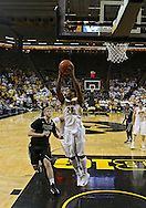 February 27 2013: Iowa Hawkeyes guard Patrick Ingram (24) pulls in a rebound during the first half of the NCAA basketball game between the Purdue Boilermakers and the Iowa Hawkeyes at Carver-Hawkeye Arena in Iowa City, Iowa on Wednesday, February 27 2013.