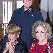 NLD/Amsterdam/20130921 - Uitreiking Awards, Marthe Roling, Hans van Manen en Anneke Grönloh