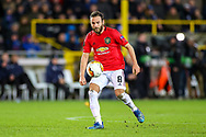Manchester United midfielder Juan Mata (8) during the Europa League match between Club Brugge and Manchester United at Jan Breydel Stadion, Brugge, Belguim on 20 February 2020.