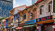 Shops on Arab Street in the Malay Heritage District, Singapore, Republic of Singapore