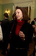 Lady Barbara Black, ( Barbara Amiel ) , Catherine de Medici by Leonie Frieda book party, English Speaking Union. 3 February 2004. © Copyright Photograph by Dafydd Jones 66 Stockwell Park Rd. London SW9 0DA Tel 020 7733 0108 www.dafjones.com