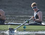 Putney, London,  Tideway Week, Championship Course. River Thames,  Oxford UBC.No. 7: James Cook, <br /> Tuesday  28/03/2017<br /> [Mandatory Credit; Credit: Peter Spurrier/Intersport Images.com ]