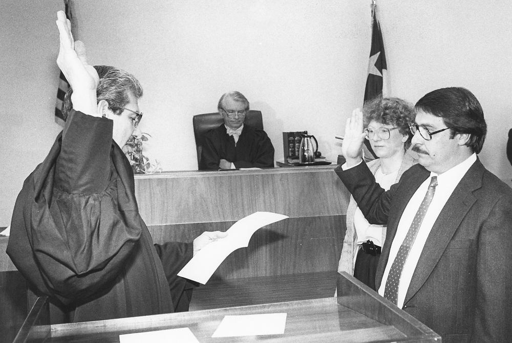 1996  Judge Wilfred Aguilar is sworn into office, Hispanic district judge  Austin, Texas