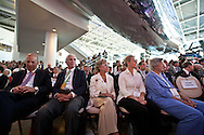 The debate crowd..Eight republican candidates for US President face off at a debate held at the Ronald Reagan Library. The debate was sponsored by NBC News and POLITICO, and was moderated by Brian Williams, anchor of NBC Nightly News.