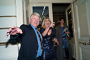 STANLEY JOHNSON; RACHEL JOHNSON, Rachel's Johnson's 'A Diary of the Lady'book launch at The Lady's offices. Covent Garden. London. 30 September 2010. -DO NOT ARCHIVE-© Copyright Photograph by Dafydd Jones. 248 Clapham Rd. London SW9 0PZ. Tel 0207 820 0771. www.dafjones.com.