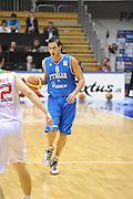 Trieste 8 Settembre 2012 Qualificazioni Europei 2013 Italia Bielorussia<br /> Foto Ciamillo<br /> Nella foto : danilo gallinari