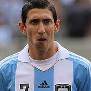 Angel Di Maria, Argentina, during the Brazil V Argentina International Football Friendly match at MetLife Stadium, East Rutherford, New Jersey, USA. 9th June 2012. Photo Tim Clayton