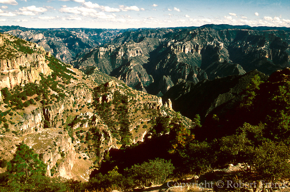 MEXICO, CHIHUAHUA STATE Copper Canyon from Divisadero