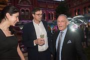 RODDY CAMPBELL; NEIL MENDOZA, V & A Summer party. South Kensington. London. 22 June 2016