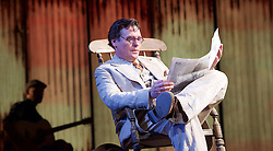 To Kill a Mockingbird <br /> by Harper Lee <br /> at The Barbican Theatre, London, Great Britain <br /> rehearsal <br /> 25th June 2015 <br /> <br /> <br /> <br /> Robert Sean Leonard as Atticus Finch<br /> <br /> <br /> <br /> Photograph by Elliott Franks <br /> Image licensed to Elliott Franks Photography Services
