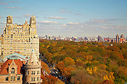 View of Central Park and the Beresford from 146 Central Park West, 17th floor