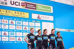 Team TIBCO - Silicon Valley Bank sign on at Tour of Chongming Island 2019 - Stage 1, a 102.7 km road race on Chongming Island, China on May 9, 2019. Photo by Sean Robinson/velofocus.com