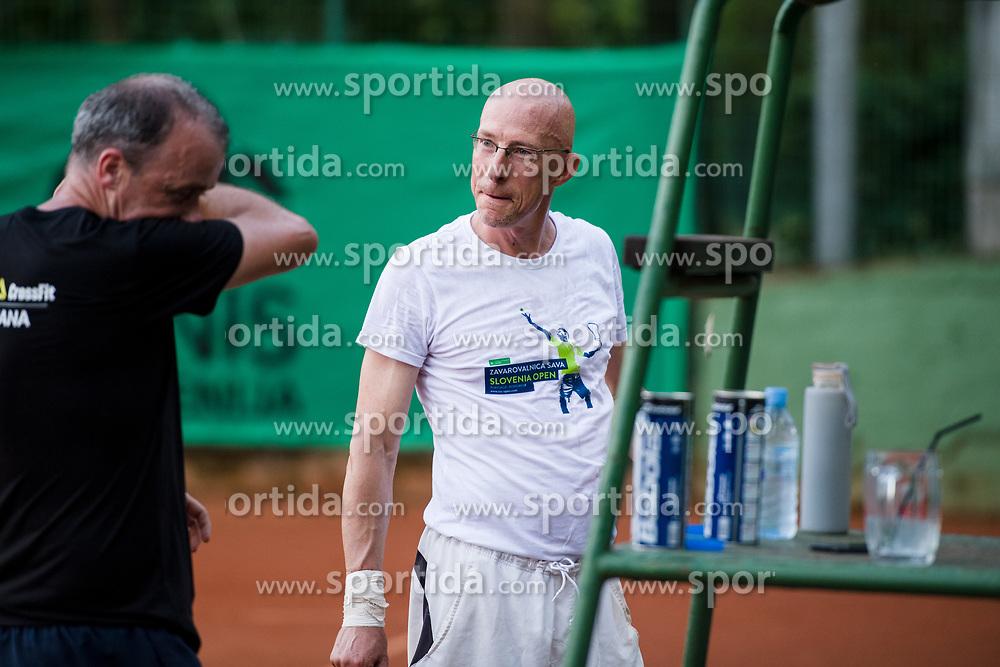Edi Sep, Robert Kukovica, Drzavno prvenstvo novinarjev v tenisu 2019, on June 12, 2019 in Tivoli, Ljubljana, Slovenia. Photo by Saso Pahic Szabo / Sportida
