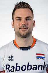 10-05-2017 NED: Selectie Nederlands volleybal team mannen 2017, Arnhem<br /> Op Papendal werd de selectie gepresenteerd / Dirk Sparidans #3