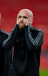 LONDON, ENGLAND - Thursday, October 8, 2020: Wales' Jonathan Williams before the International Friendly match between England and Wales at Wembley Stadium. The game was played behind closed doors due to the UK Government's social distancing laws prohibiting supporters from attending events inside stadiums as a result of the Coronavirus Pandemic. England won 3-0. (Pic by David Rawcliffe/Propaganda)