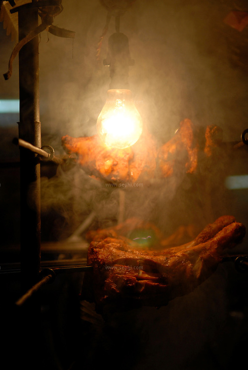 BBQ meet at Nizamuddin Auliya shrine in New Delhi during Ramadan.