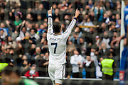 Celebration of Ronaldo's hat trick