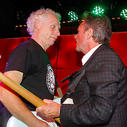 NLD/Amsterdam/20120918 - Cd Box presentatie Doe Maar , Henny Vrienten en Jan Hendriks