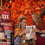NLD/Amsterdam/20180925 - Presentatie nr.8 magazine XXXL, Conny van Gun - Witteman samen met Jimena Rico