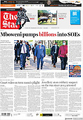 February 25, 2021 (AFRICA): Front-page: Today's Newspapers In Africa