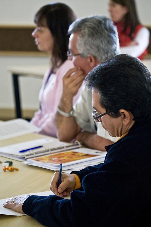 Nova Lima_MG, Brasil...Curso GEP (Gestao Estrategica de Pessoas) em Nova Lima...The GEP Course (Strategic Management of People) in Nova Lima...Foto: JOAO MARCOS ROSA / NITRO