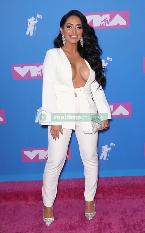 August 21, 2018 - New York City, New York, USA - 8/20/18.Angelina Pivarnick at the 2018 MTV Video Music Awards held at Radio City Music Hall in New York City..(NYC) (Credit Image: © Starmax/Newscom via ZUMA Press)
