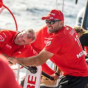 Leg 01, Alicante to Lisbon, day 06, on board MAPFRE. Photo by Ugo Fonolla/Volvo Ocean Race. 27 October, 2017