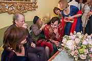 FRANCES WELCH; CRAIG BROWN;  MARY KILLEN; GEORGE BINNING; KATHY LETTE; , Tatler magazine Jubilee party with Thomas Pink. The Ritz, Piccadilly. London. 2 May 2012