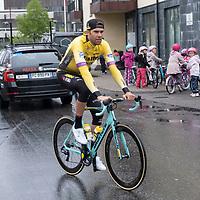Jumbos Maarten Wynants før starten i Lyngdal av Tour of Norway sykkelritt etappe 2: Lyngdal - Kristiansand.