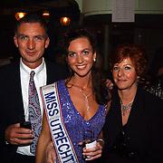 Verkiezing Miss Nederland 2003, Margriet de Vos en ouders